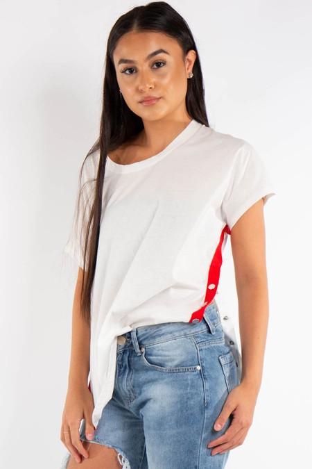 White Side Popper T-shirt