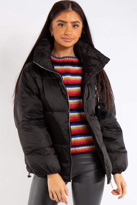 Anna Black Super Soft Puffer Jacket