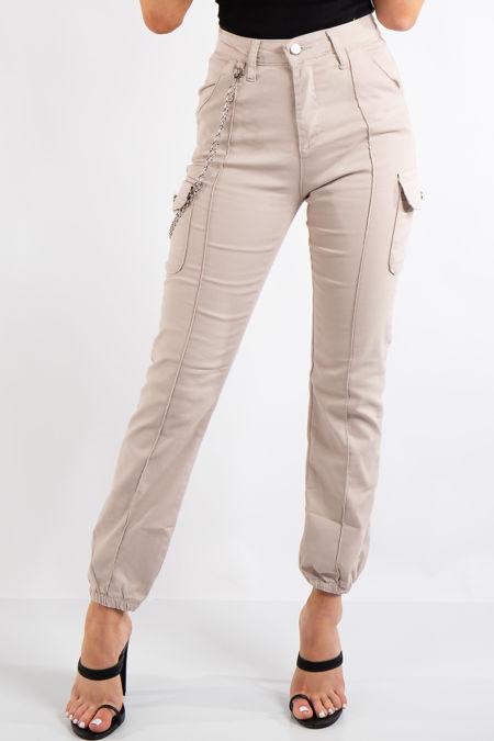 Kim Stone Cargo Chain Trousers