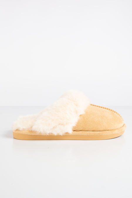 Scuff Sand Faux Suede Slippers