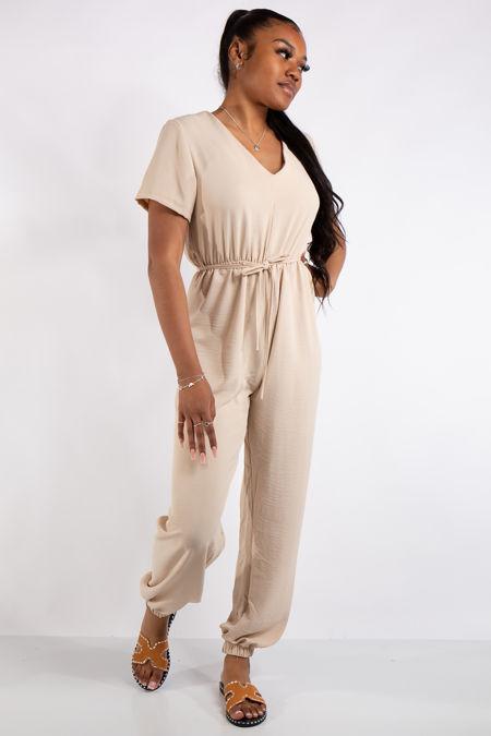 Gabriella Stone Basic Jumpsuit