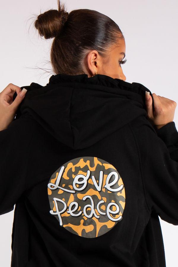 Egypt Black Love Peace Logo Tracksuit