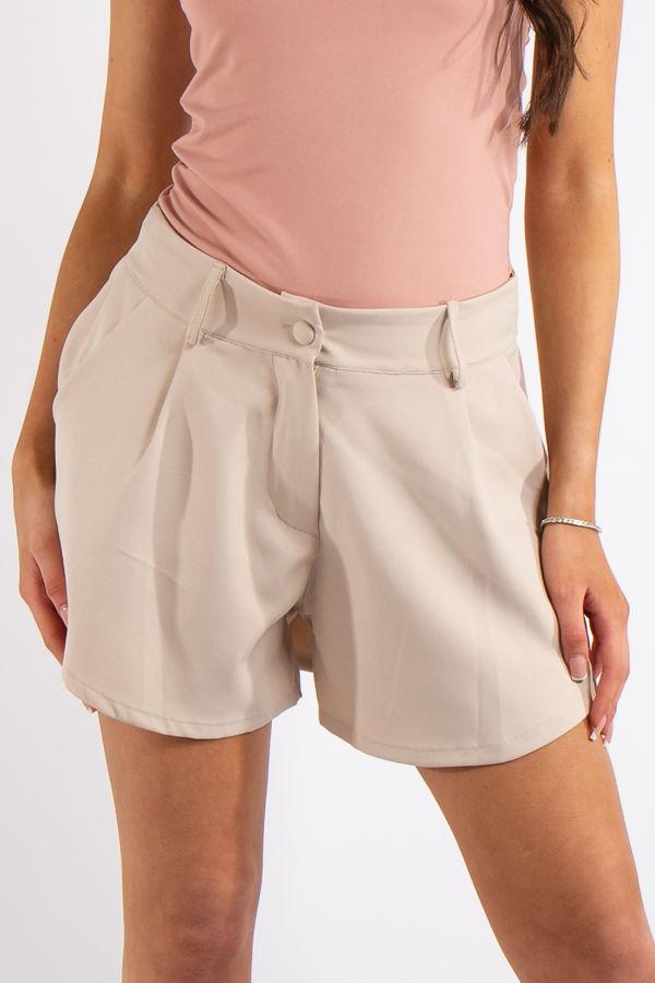 Tinley Stone Flared Pocket Shorts